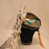 Demon Mask- side view with hat
