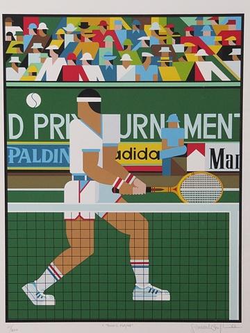 Tennis player © 1982