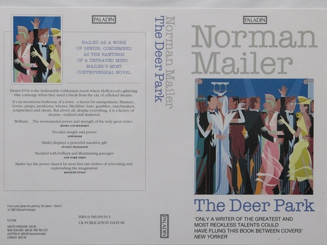 "Book Cover for Norman mailer ""Deer Park"" © 1987"