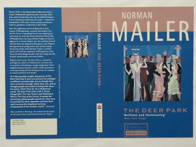 "Book Cover for Norman Mailer ""Deer Park"" (Commissions) © 1987"