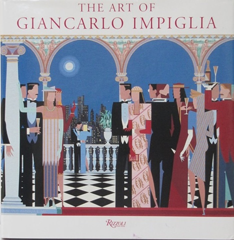 "Book Cover For ""The Art of Giancarlo Impiglia"" © 1996"