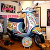 The Vespa - Commission for The Retreat Charity Event (3) © 2006