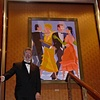 Queen Mary 2 painting ( The dance)