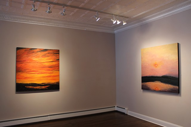 Illuminato, Solo Show at s.h.e. gallery, Boonton, NJ