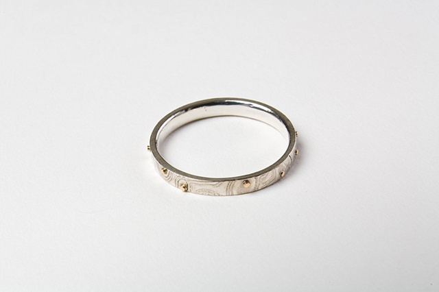 Elise Stack's wedding band