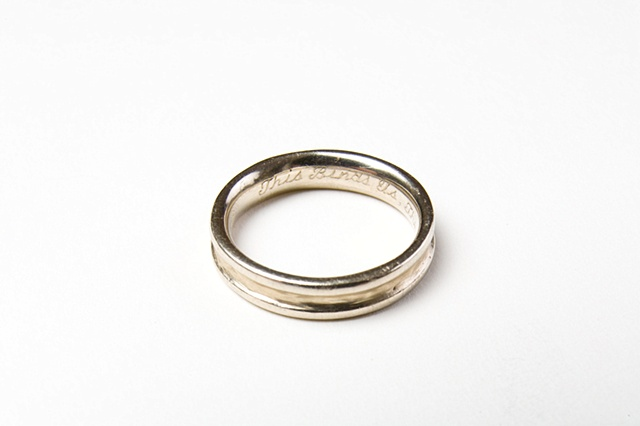 Kiersten Johnson's wedding ring