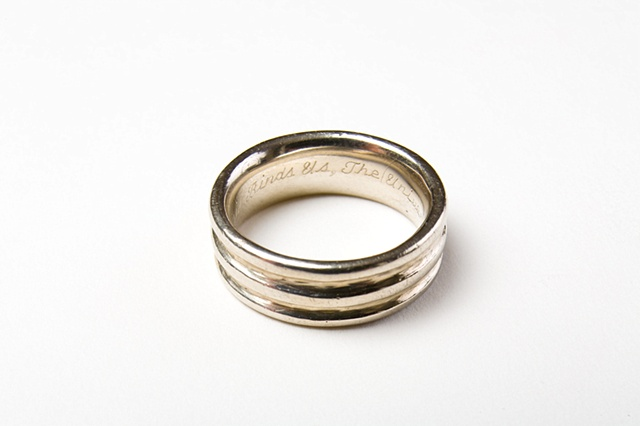 Orlando Johnson's wedding ring