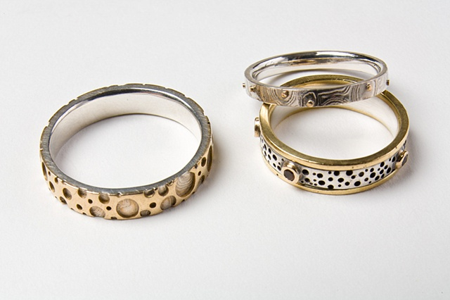 Dan & Elise Stack's wedding set
