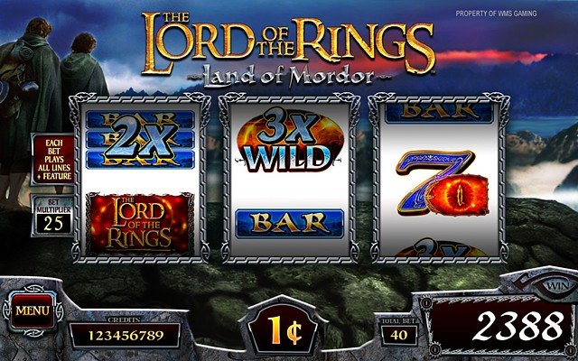 The Lord of the Rings 3RM-Land of Mordor: Base Screen