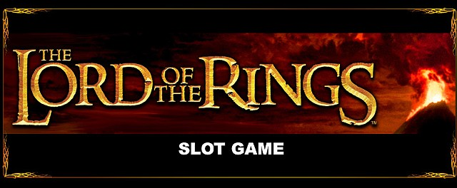 Lord of the Rings 3RM slot game art