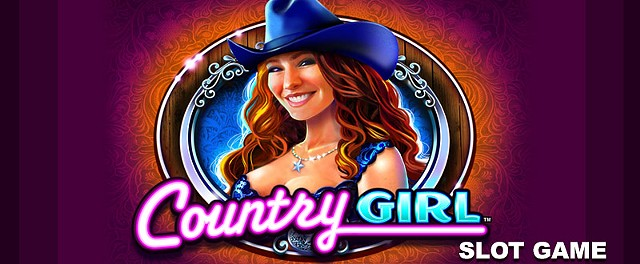 Country Girl slot game art