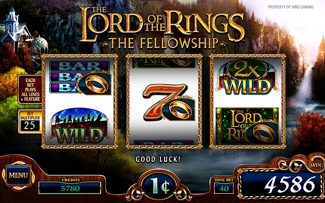 Lord of the Rings 3RM-The Fellowship: Base Screen