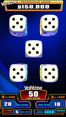 Yahtzee Shake-It! Topscreen