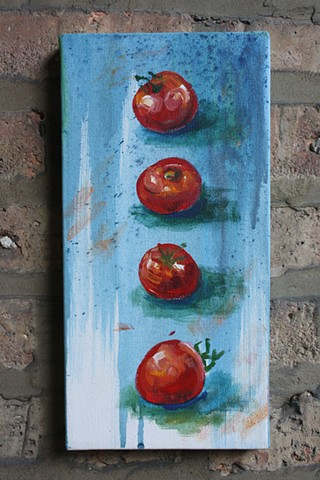 Tomatoes, vertical