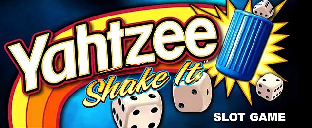 Yahtzee: Shake It! slot game art