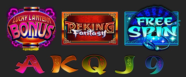 Peking Fantasy Symbol set