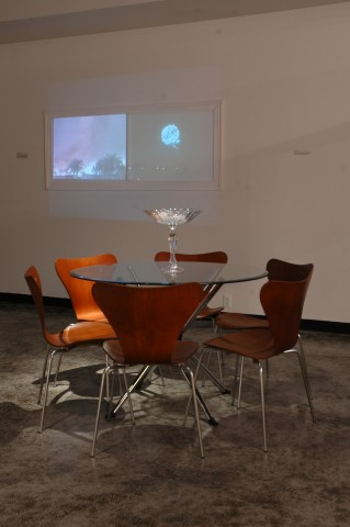 Installation shot of Gallery at Open House