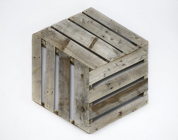 Grey Hexagon/Wooden Box