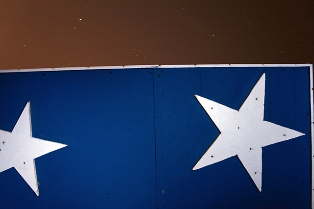 Miami beach, Stars, South Beach, Lifegaurd tower, sand, sky, night, stacey vaughn, intimacies series, 2010