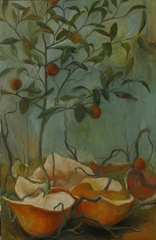 Still Life of an Orange