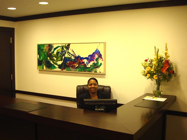 Greenfield, Stein & Senior Reception Desk