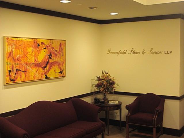 Greenfield, Stein & Senior, LLP Reception Area