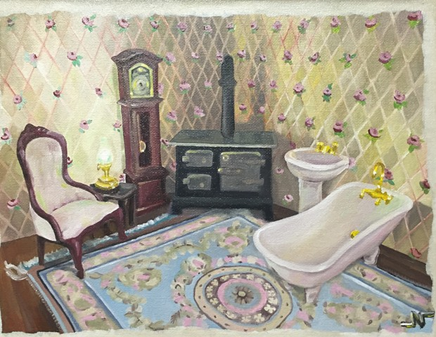 Dollhouse Still life SOLD