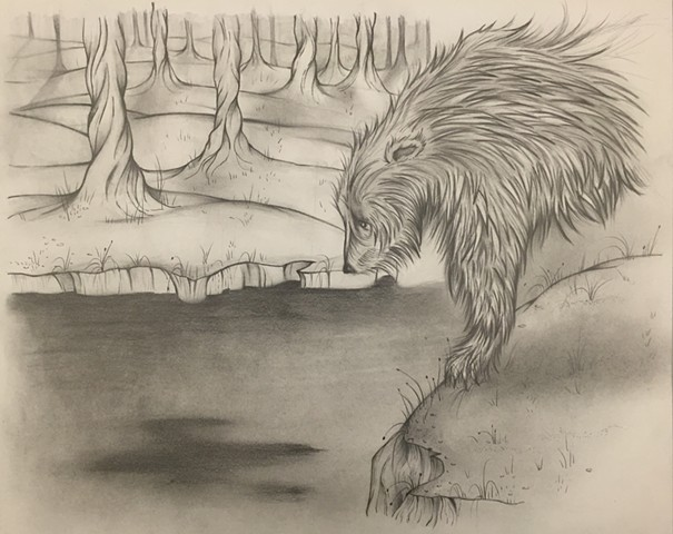 Bear Drawing #9