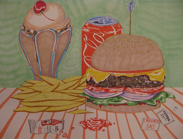 American Meal -SOLD