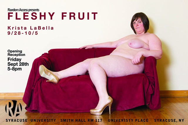 Fleshy Fruit Poster and Press Release