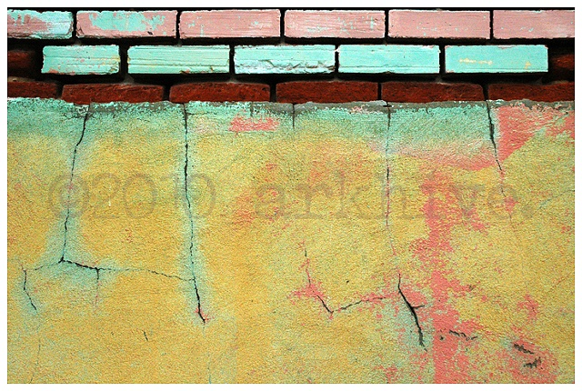 'bricks + cracks'