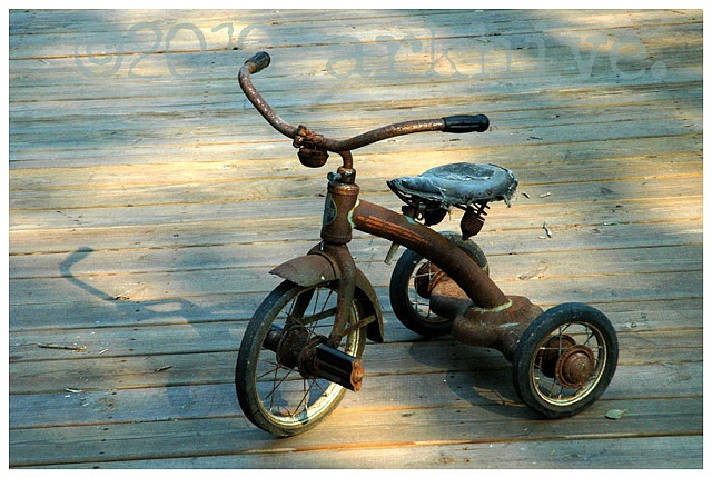 'grampa's tricycle'