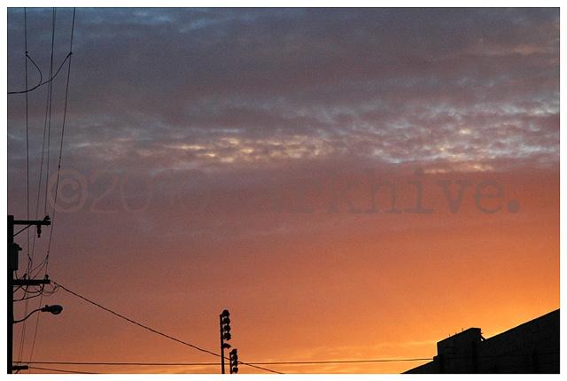 san francisco sundown