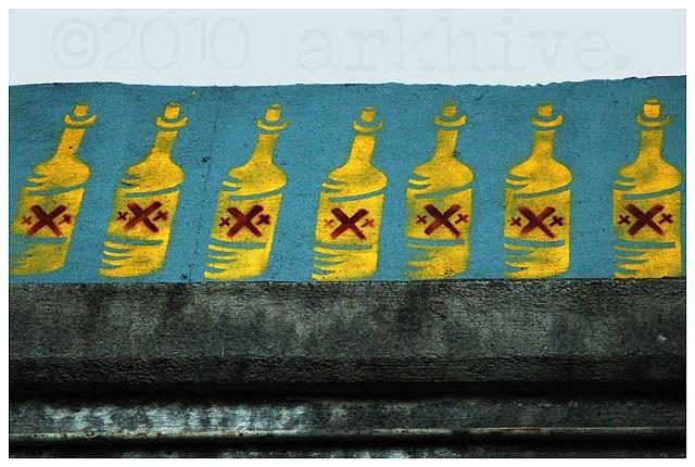 '7 bottles + krog tunnel'
