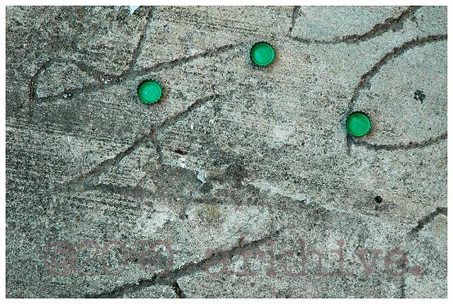 green caps