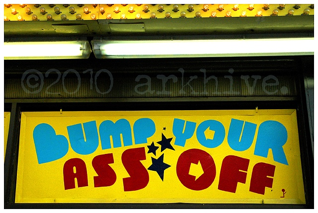 coney island bump your ass of