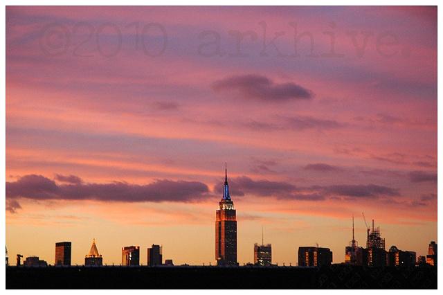 manhattan skyline brooklyn