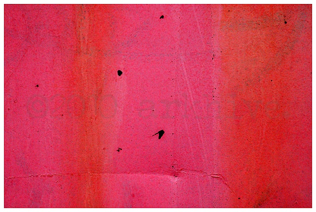 'hot pink wall detail'