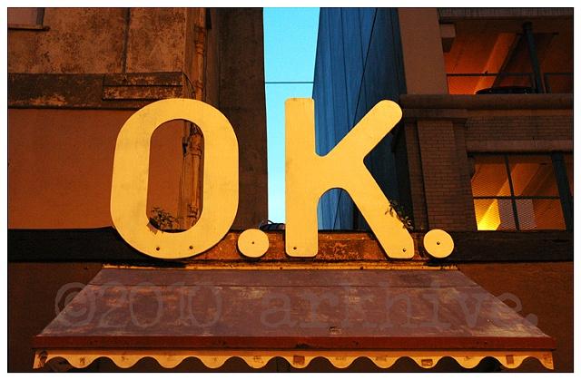 'O.K.'