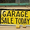 'garage sale today'