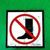 'no boots'