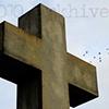 'cross + birds'