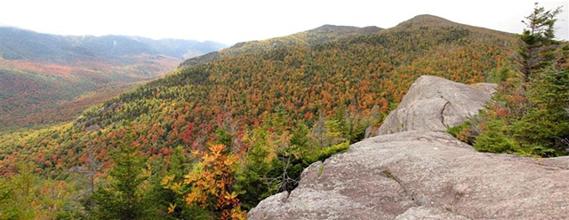 Adirondack Mts., autumn foliage, Brothers Ridge