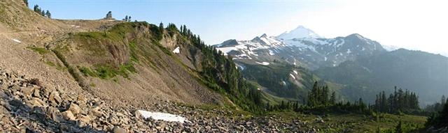 Mt. Baker, North Cascades, Chain Lakes Trail