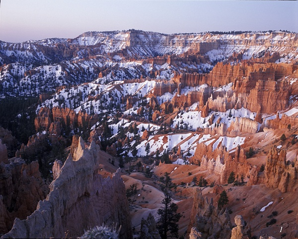 Bryce Canyon, Utah, sunrise, rock formations, desert sandstone