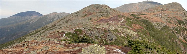 Presidential Range, White Mts., New Hampshire, Crawford Path