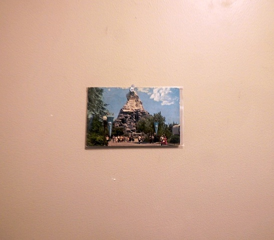 disney matterhorn, retro disney art, anaheim. contemporary art, joseph cruz