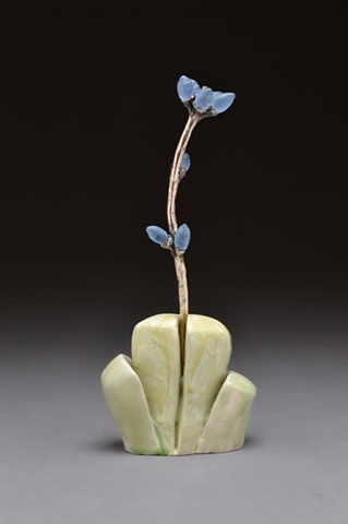 bronze, glass, ceramic, botanica, botanical, floral, organic, clay, otterson