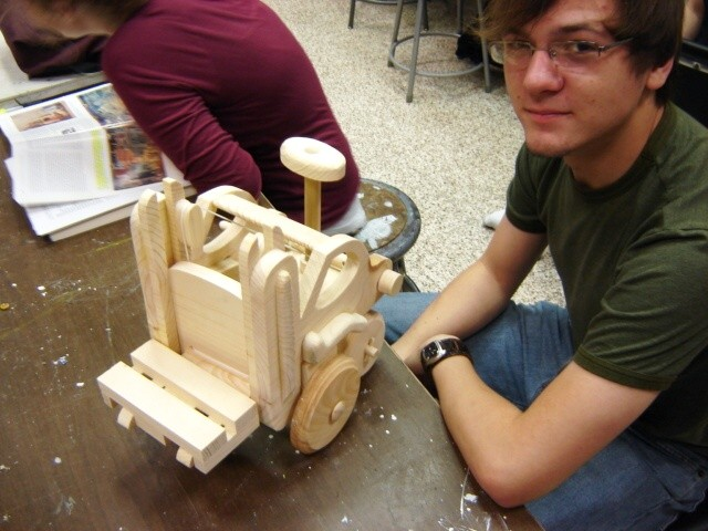 3-D Design, ULL Assignment: Wooden Toy