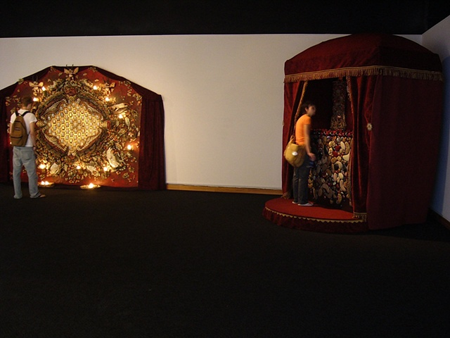 The Honey and The Grotto, installation view